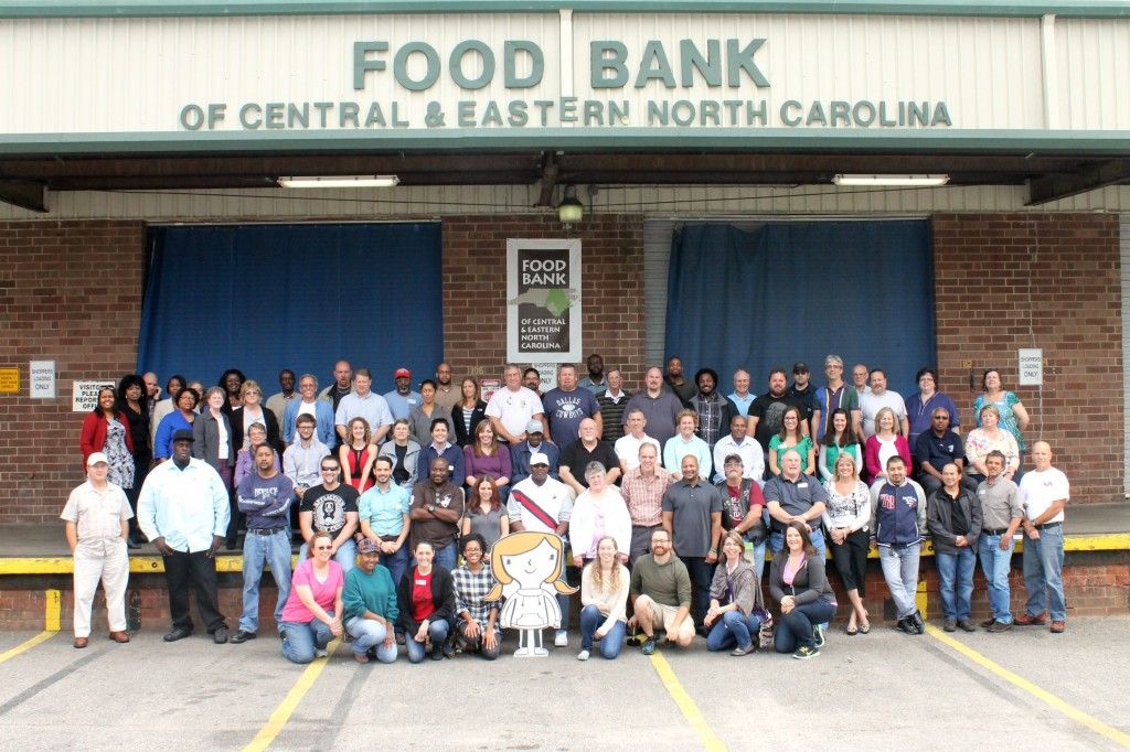 The Food Bank Staff at our Raleigh Branch