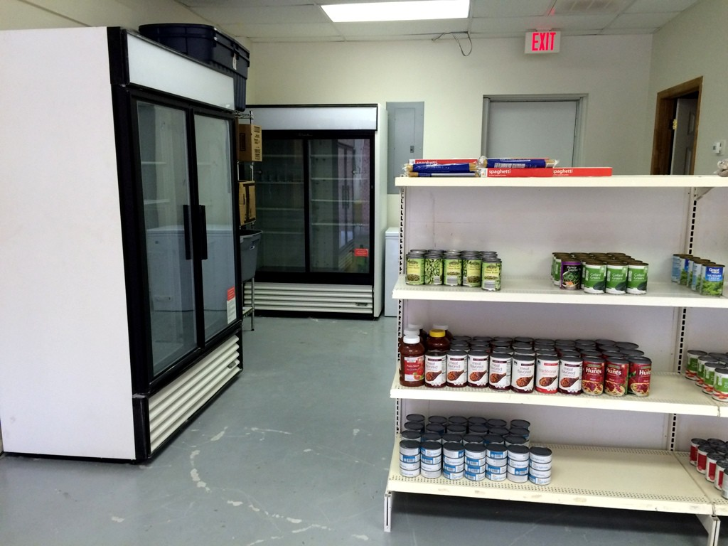 Photo of refrigerator and freezer