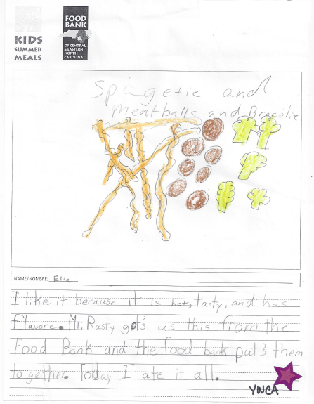"""""""What Kids Summer Meals Means to Me"""" by Ella"""