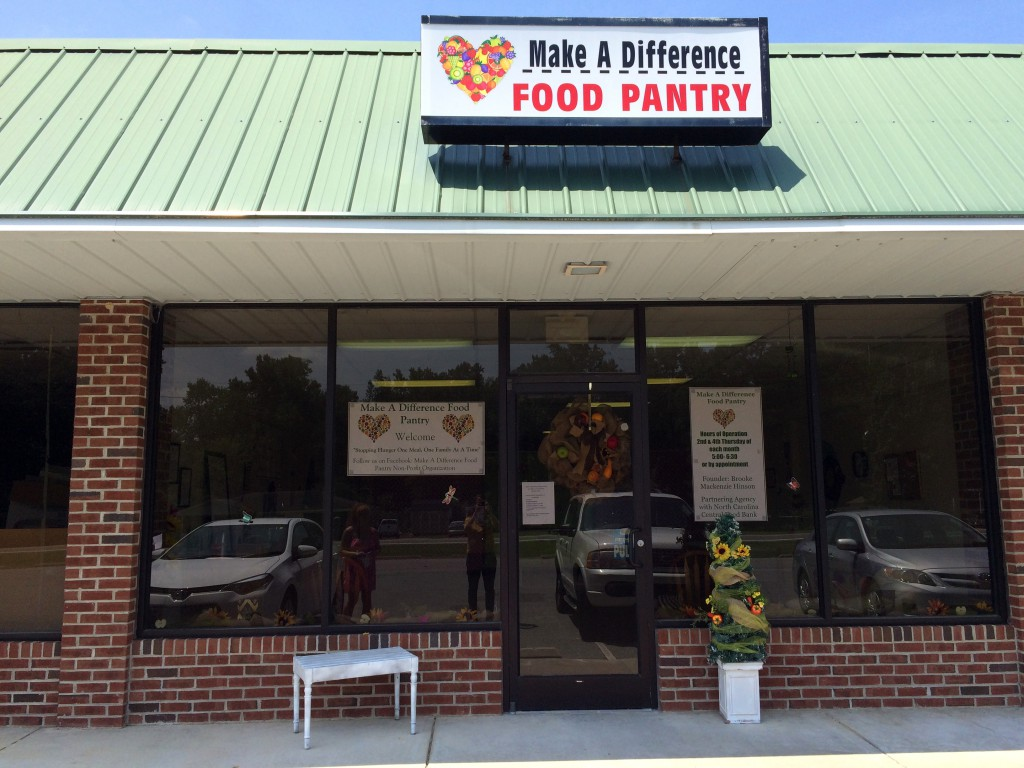 Photo of Make a Difference Food Pantry store front