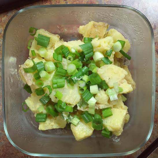 Photo of potato salad