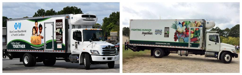 Photo of new trucks