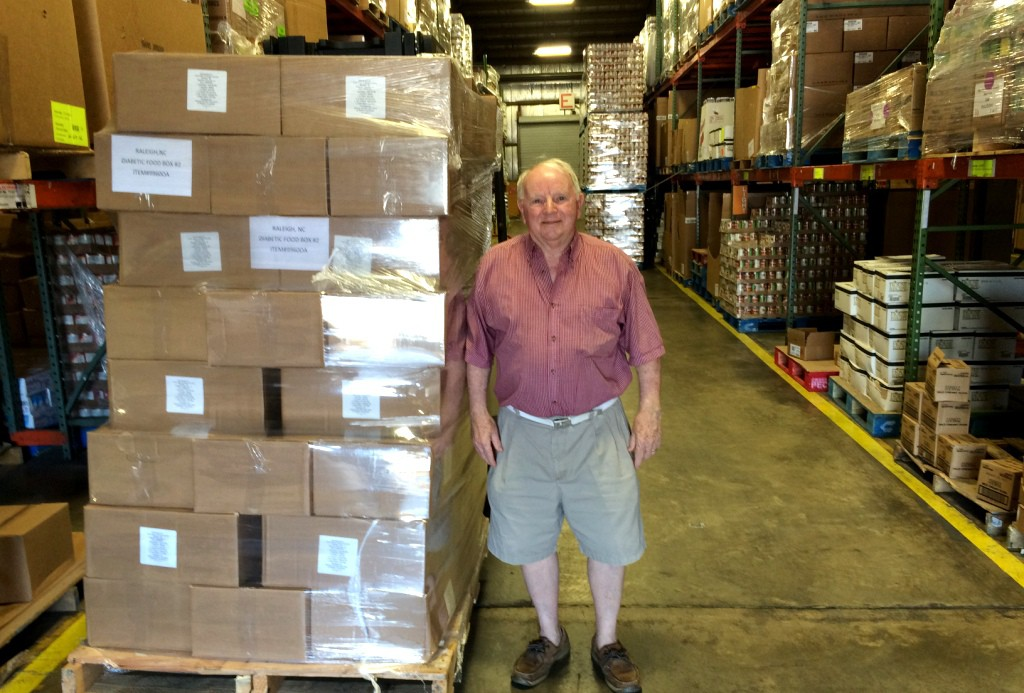 Photo of Clayton Area Ministries volunteer