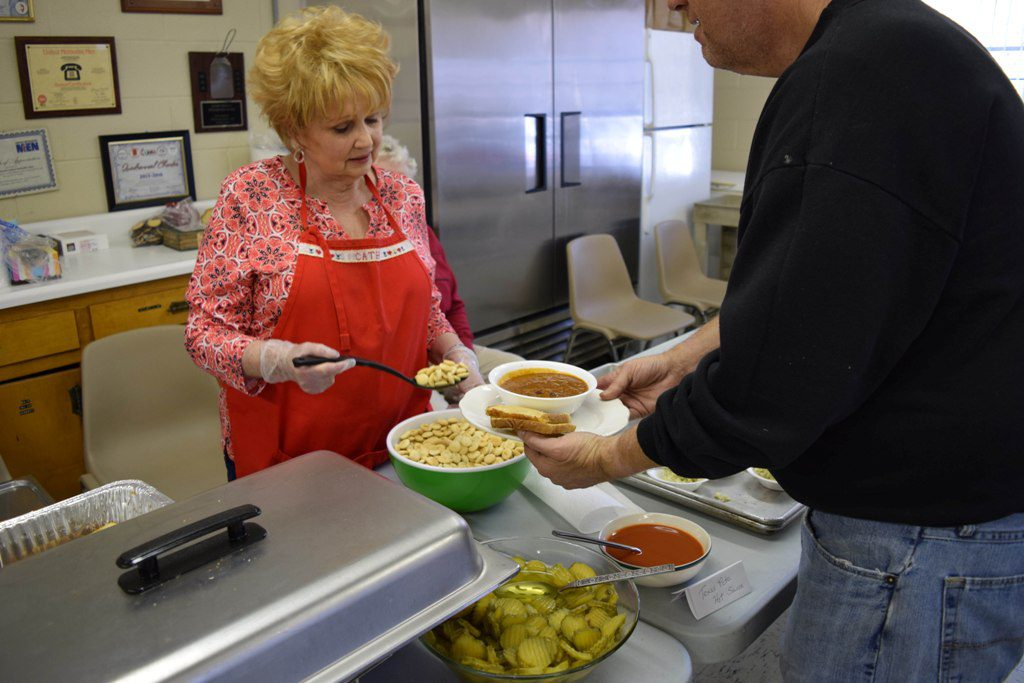 Volunteer at Page Soup Kitchen