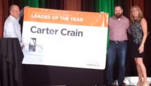 Food Resources Manager, Carter Crain, has won the 2016 Eastern Region Food Sourcing Leader of the Year award