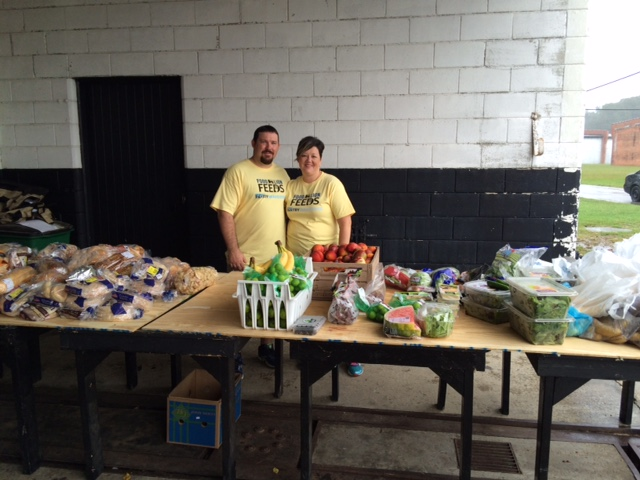 Food Lion's Great Pantry Makeover at Baker Family Ministries