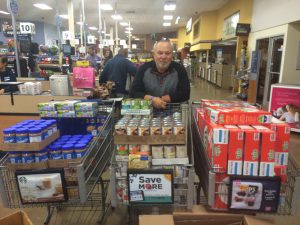 Salvation Army end of year shopping spree at Kroger