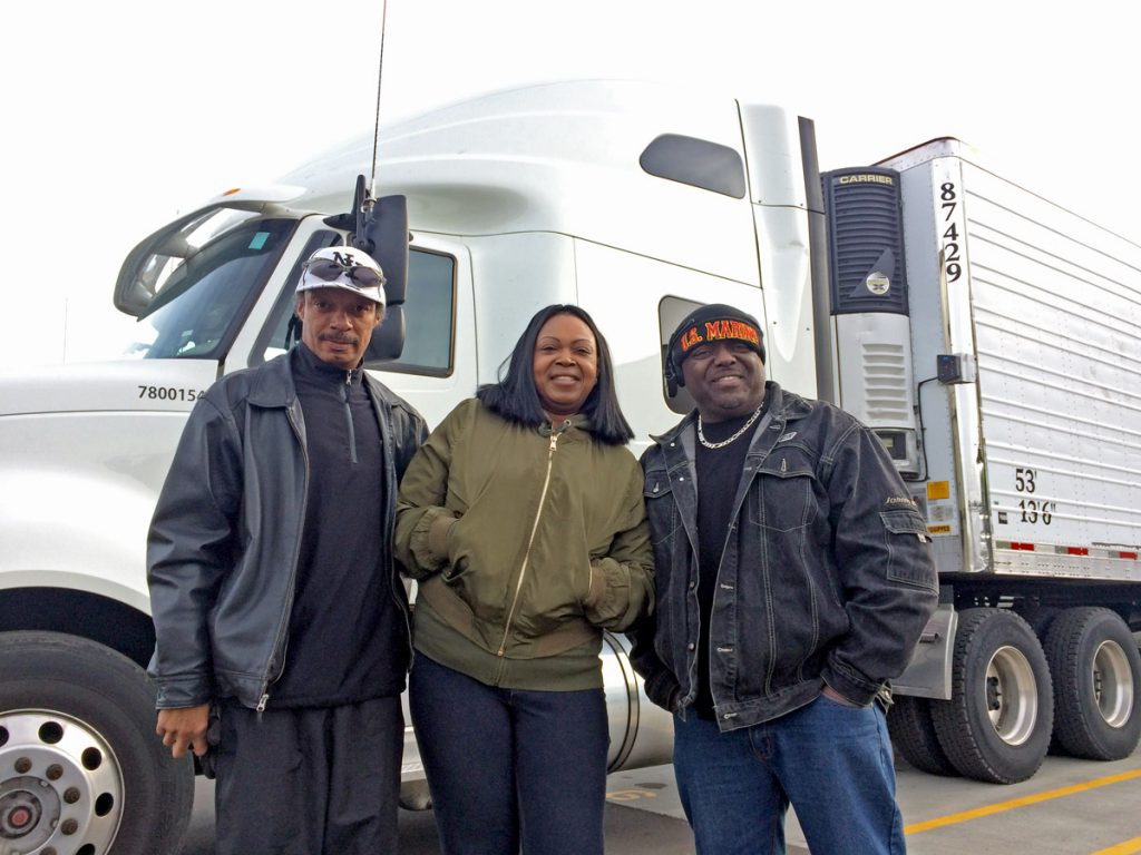 Steven James, LaSonia Melvin, and James Mcduffie traveled to Raleigh on a cold morning, to truck back thousands of meals of produce for their Wilmington area community - just in time for the Holidays!