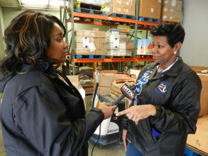 WITN's Lynnette Taylor covers MLK Day of Service at our Greenville Branch