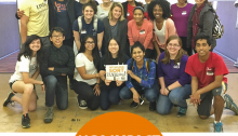 University of Georgia students volunteered at our Durham Branch