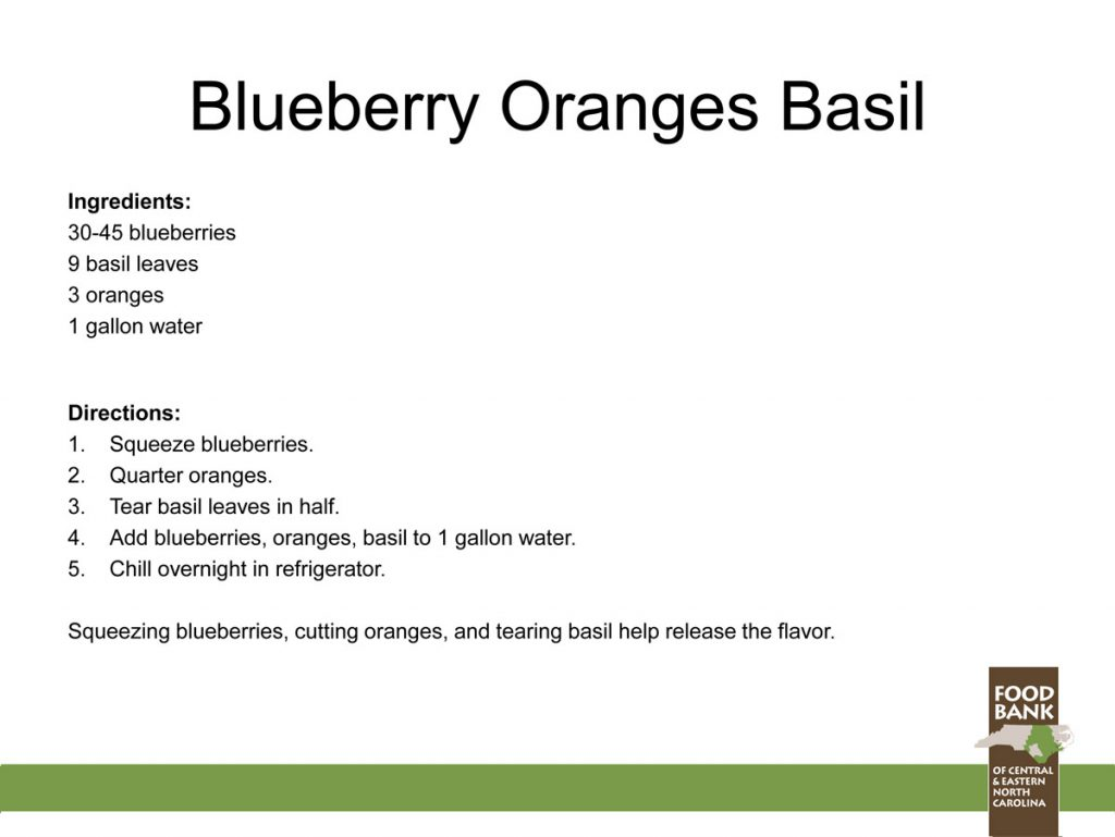 Blueberry-Orange-Basil