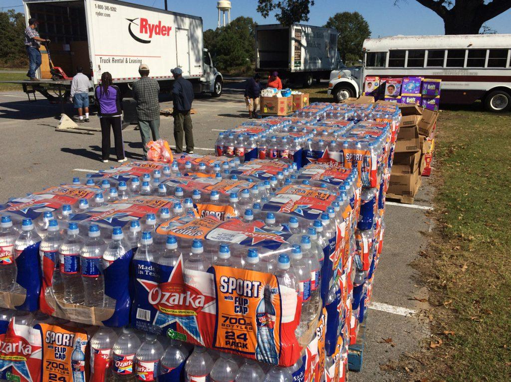 Distributing Water