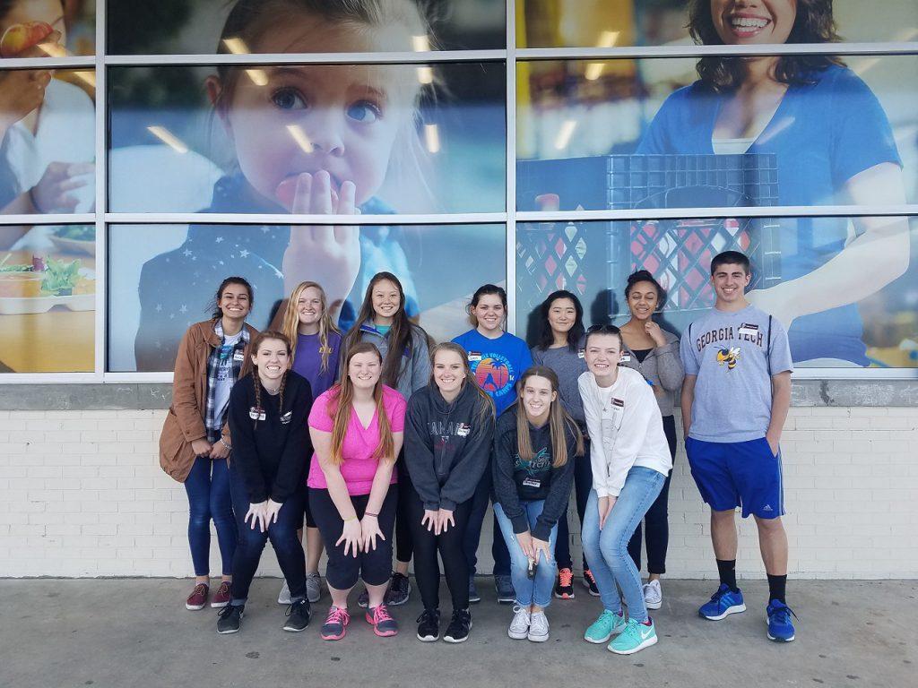 Franklin Academy volunteers