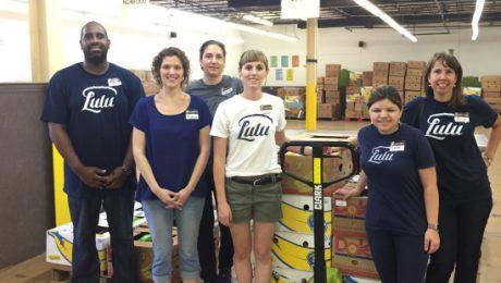 Lulu volunteers