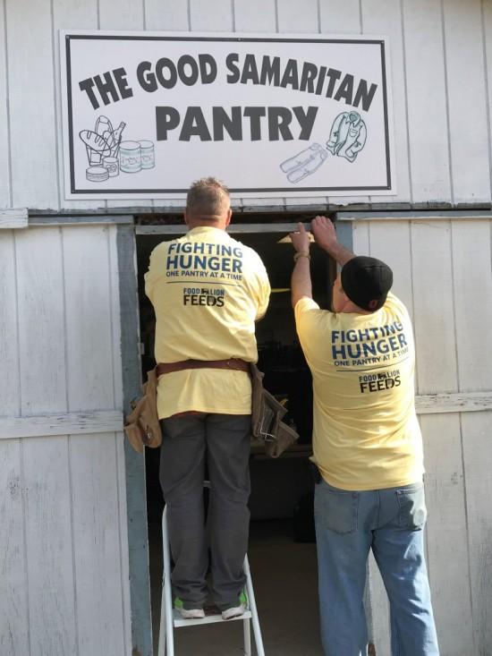 The Great Pantry Makeover at The Good Samaritan Pantry